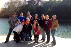 Open water class jan 2014 Comal River